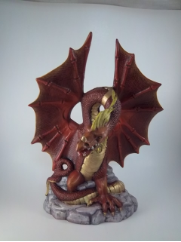 painted Large Fire Dragon