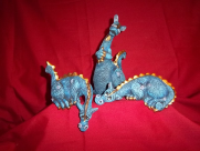Painted P.C. Dragon set of 3