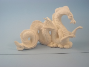 "Bisque Water Dragon, 10.5"" L (SKU:K-3307)"