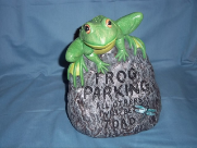 Painted Frog Parking