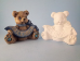 "Bisque December Birthstone Bear, 3.5"" T x 2.5"" W (SKU:J-1920)"