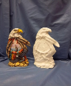 "Bisque Dream Eagle Totem, 10.5"" T (SKU:K-2990) (SKU: K-2990)"