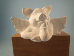 "Bisque Pig Angel shelf sitter, 3"" T  (SKU:SC-3170)"