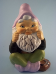 Painted Seated Gnome
