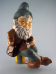 Painted Sitting Gnome